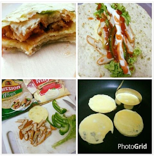Resepi Tortilla Chicken Wrap KFC