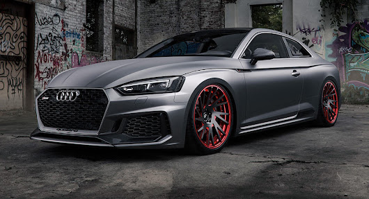 Matte Grey Audi RS5 Is A Smooth Criminal