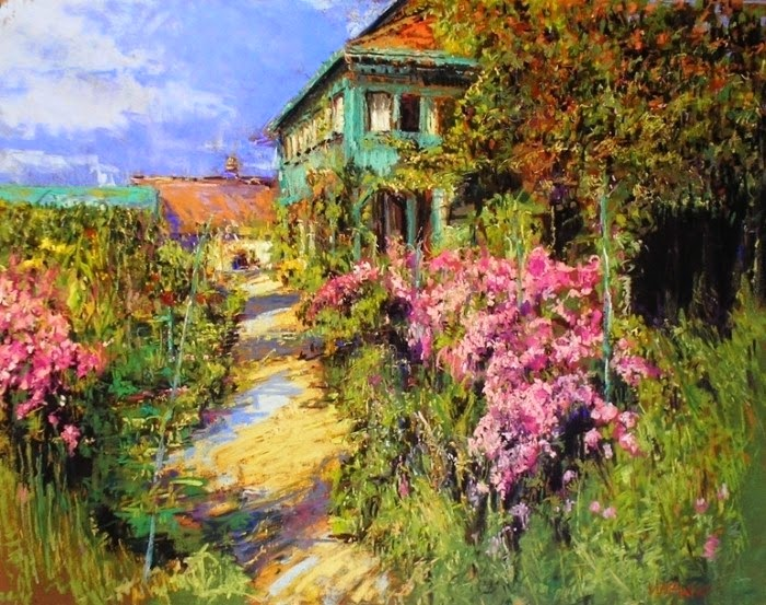 Соединение архитектуры и пейзажа. Maria Marino