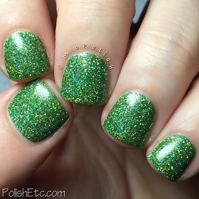KBShimmer - Mega Flame Collection - McPolish - Smells Like Green Spirit