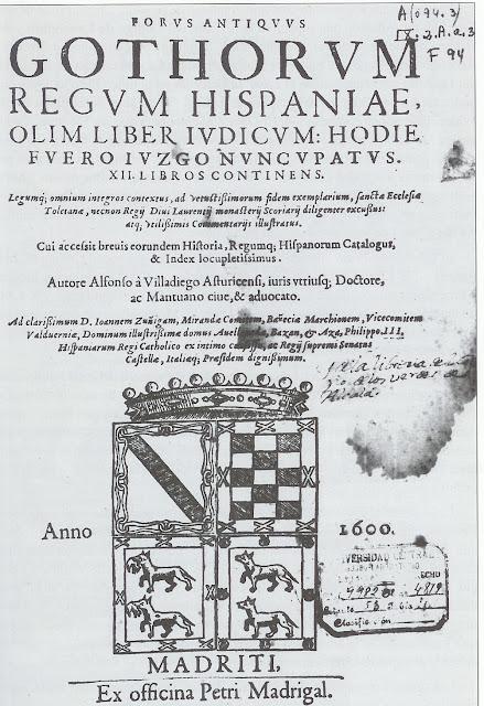 Liber iudiciorum (Llibre dels Judicis o Llibre Jutge)