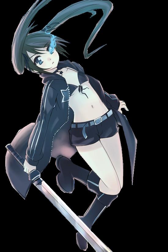 Black Rock Shooter Anime