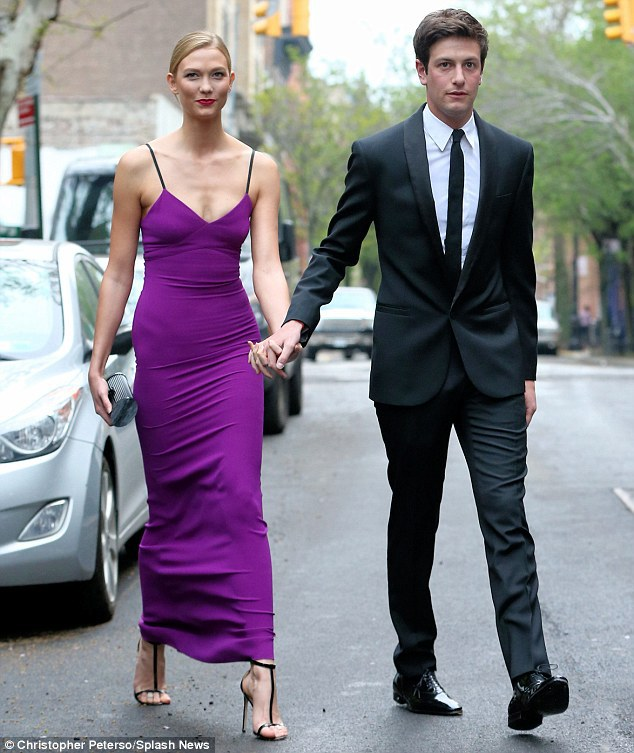 Karlie Kloss opens up about her millionaire boyfriend Joshua Kushner - karlie kloss and joshua kushner