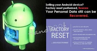 Factory Reset untuk Mengembalikan Hp Android seperti Baru lagi