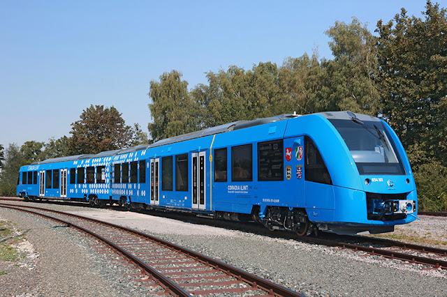 Coradia iLint, Kereta Api Berbahan Bakar Hidrogen Pertama Ada Di Jerman