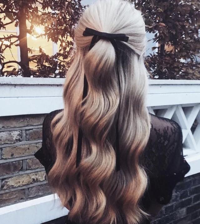 Peinados con lazo