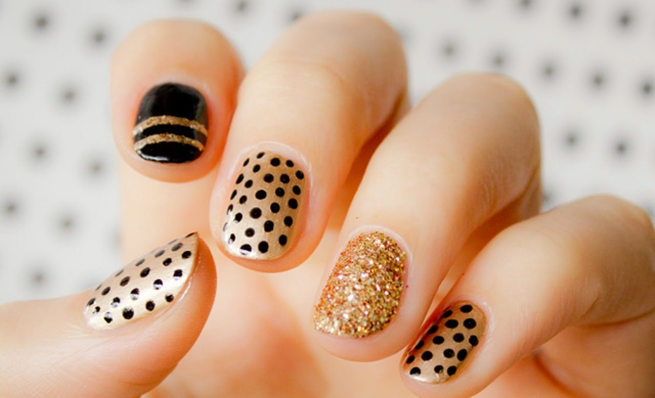 15 Polka Dot Nail Art Design Ideas Instagram Inspired Vanity