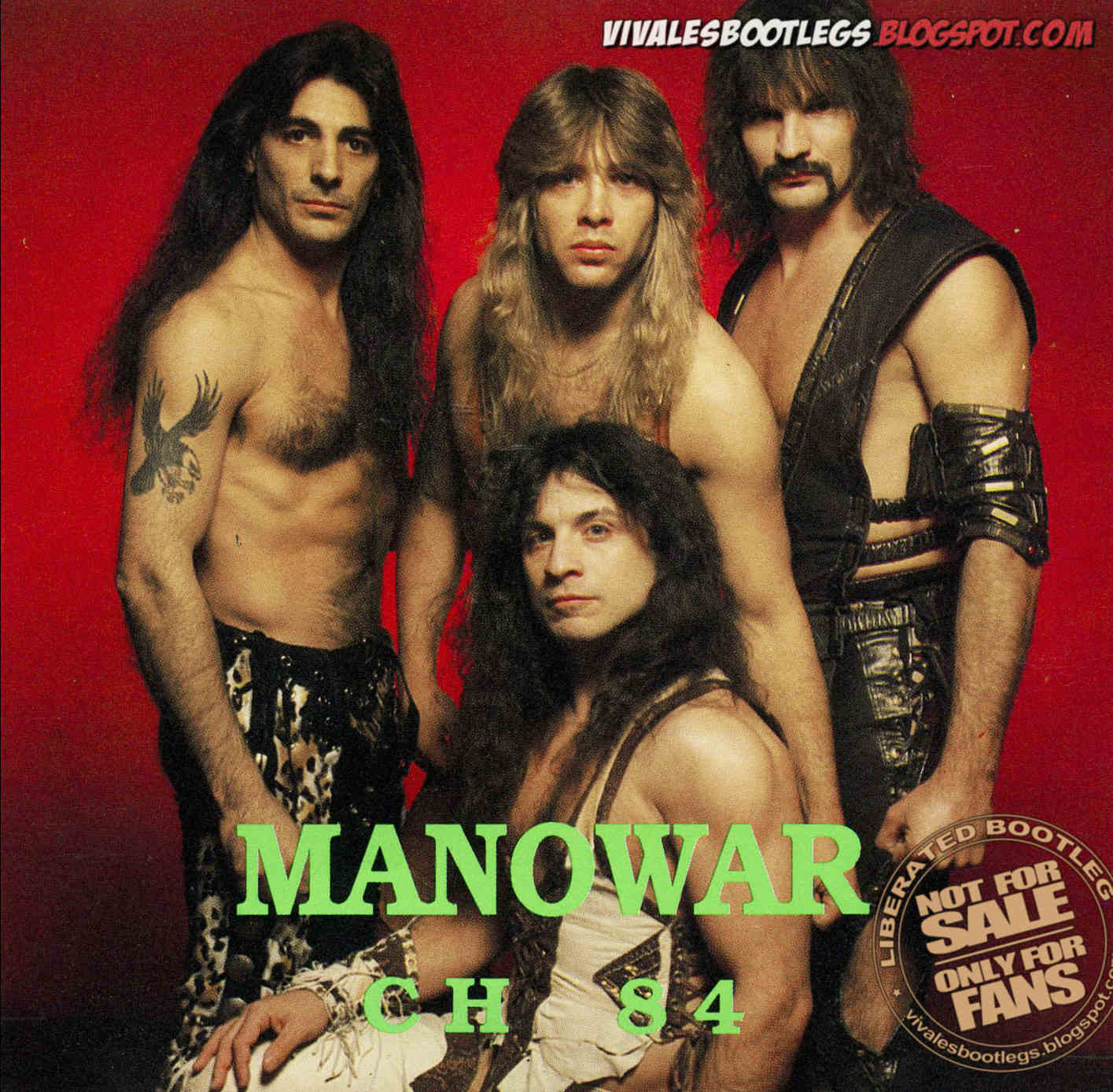 manowar ch 84 switzerland unknown city and venue 1984