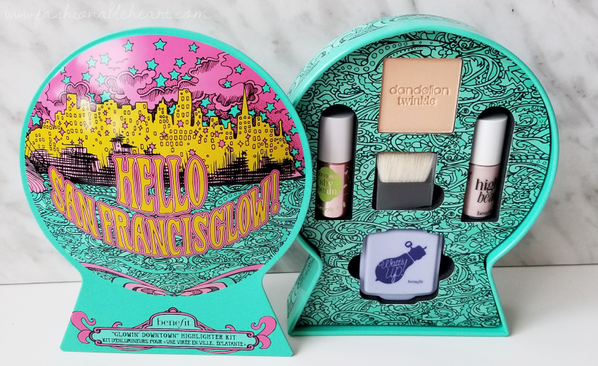 bbloggers, bbloggersca, canadian beauty bloggers, beauty blog, lbloggers, what i got for christmas, gifts, holiday, 2017, benefit, benefit cosmetics, hello canada, hello san francisglow, set, sephora, dandelion twinkle, high beam, watts up, highlighter, highlighting, shy beam