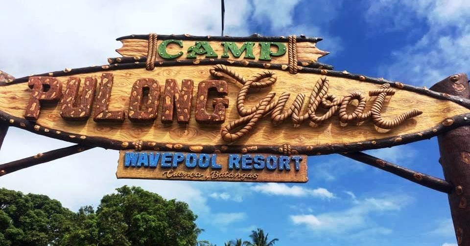 San Jose Tarlac Monastery Map%0A Camp pulong gubat is the newest wavepool resort in Cuenca Batangas  The  swimming pools were nice and clean that comes with water slides  lifesize  dinosaur
