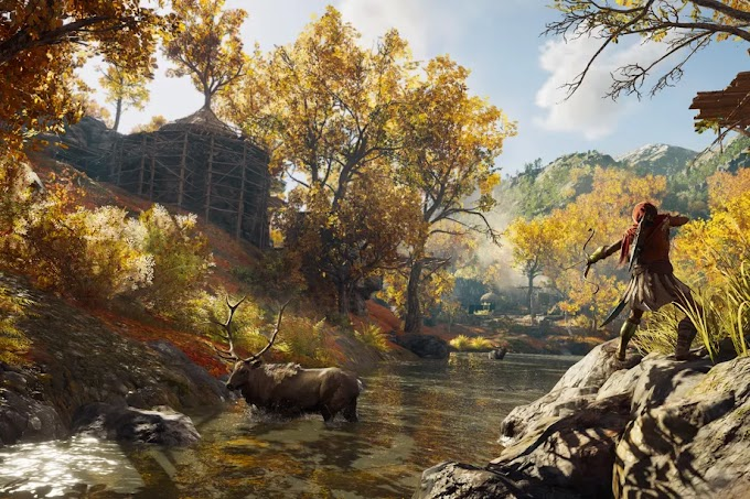 Как менять стрелы в Assassin's Creed Odyssey
