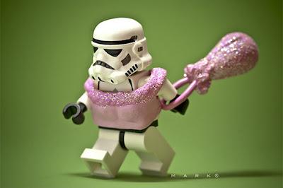 Figuras de acción de Star wars storm troopers