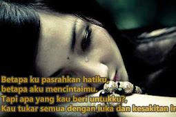 Kata Kata Sedih Tentang Cinta