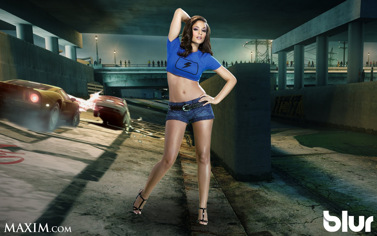 MAXIM Girl for Blur Game game hd wallpapers