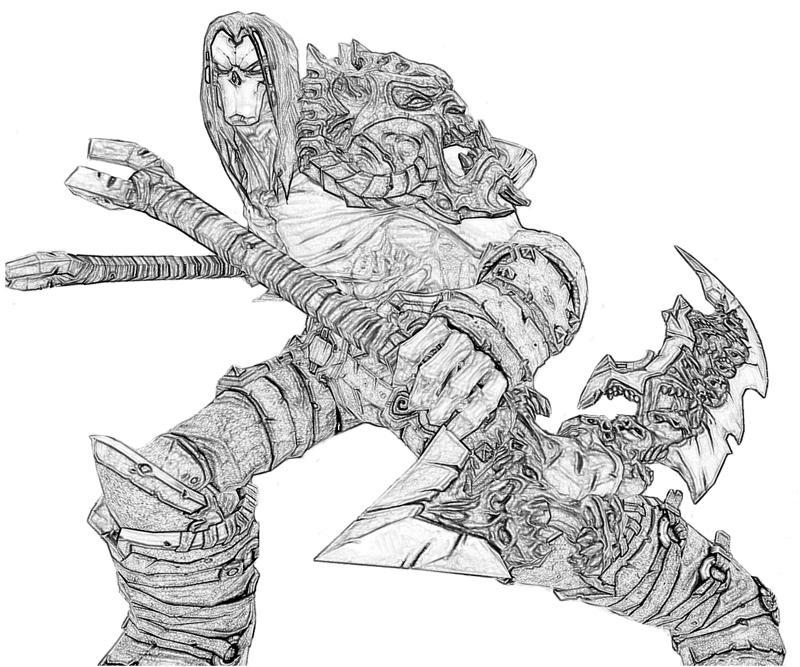 Darksiders II Death Weapon | Yumiko Fujiwara