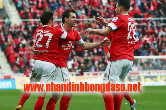 Mainz vs Wolfsburg www.nhandinhbongdaso.net