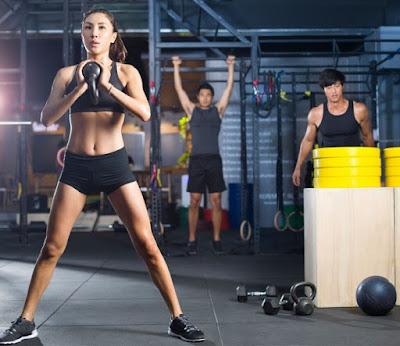 tập gym để tăng cân