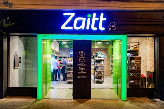 Zaitt inaugura na cidade de São Paulo loja autônoma.