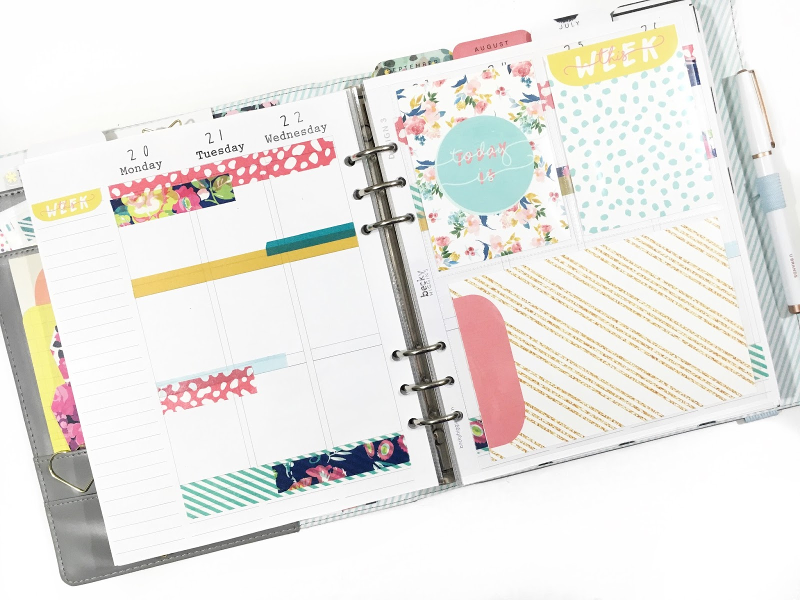 It's just a graphic of Free Printable Journaling Cards throughout creative planner