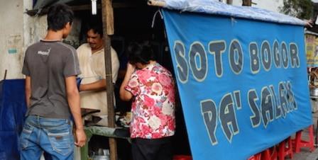 Wisata Kuliner Menjelang Malam di Bogor