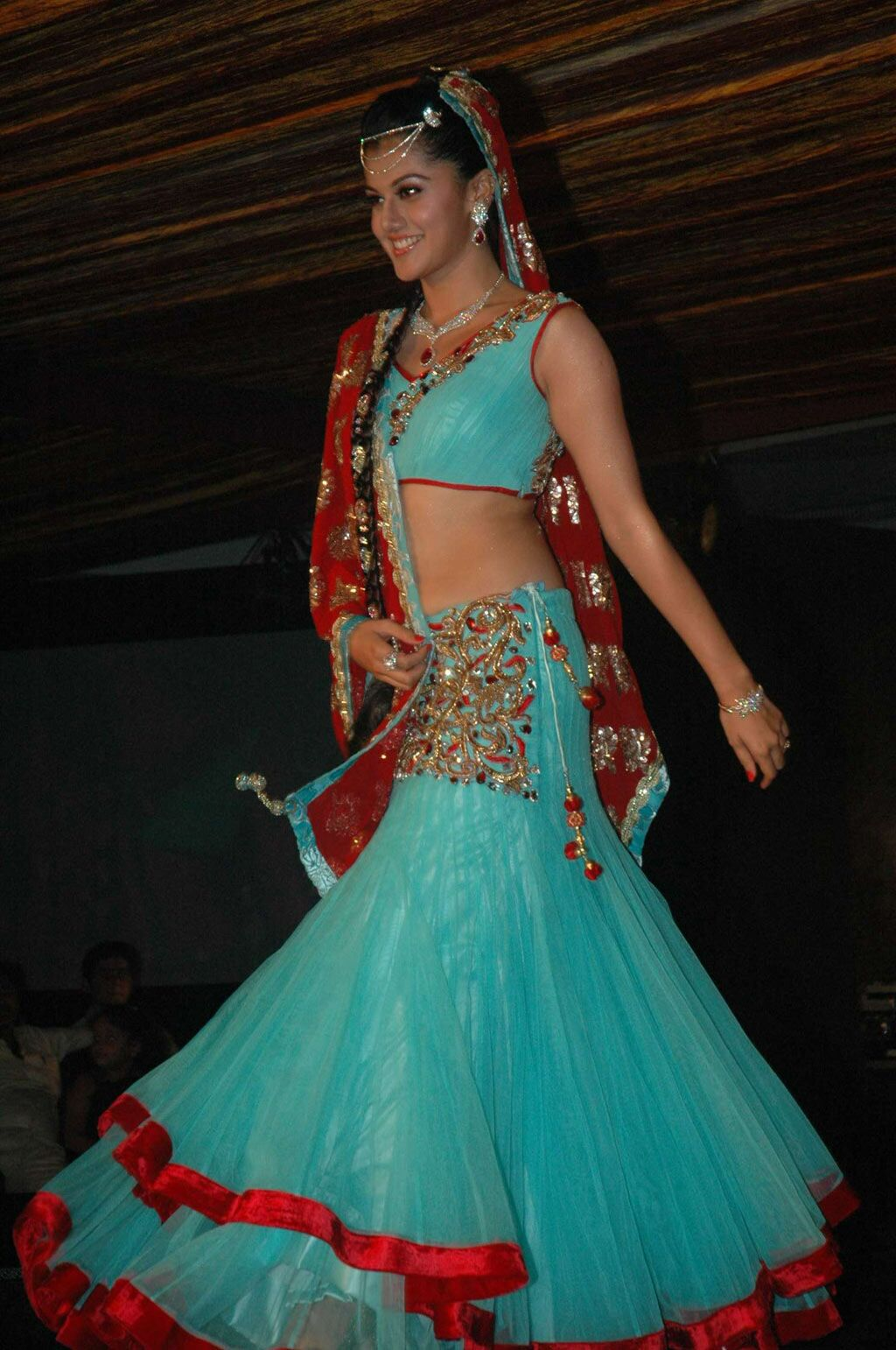 Tapasee in Fashion Show Ramp Walk