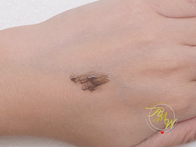 a swatch photo of Bell Hypoallergenic Brow Modeller Gel Review by Nikki Tiu.