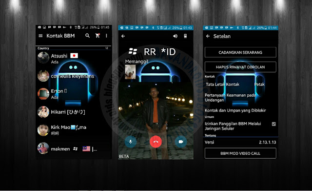 download BBM2 Mod Full Transparan Background Apk Versi 2.13.1.13 Bisa Video Call