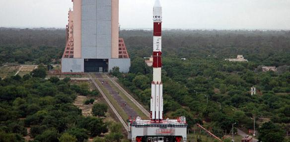 PSLV rocket. Credit: ISRO