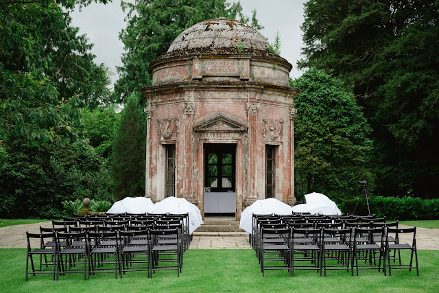 Larmer Tree gardens wedding