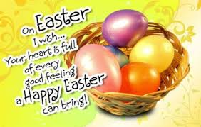 Easter day 2017 sms, easter sms for friends