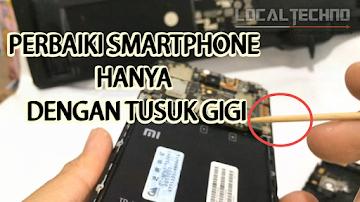Cara Perbaikai Tombol Eror Xiaomi Redmi Note 2 Prime Hanya Dengan Tusuk Gigi Dijamin Work 100%