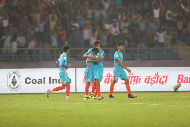 India 1-2 Columbia