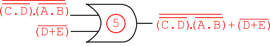 Circuito da questão 38 do ENADE 2008 de computação