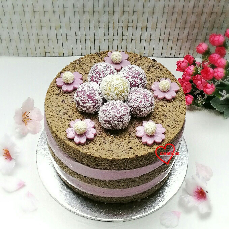 Pulut Hitam Chiffon Cake Recipe