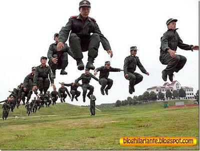 soldados engraçados