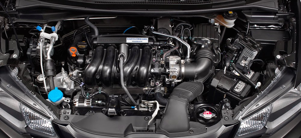 Honda's 1.5-liter Earth Dreams engine