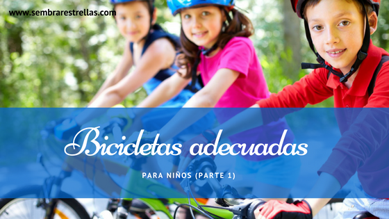 Bicicletas adecuadas para niños, tipos de bicicletas infantiñles, deporte infantil, salud infantil, bicicletas para niños, como escoger una bicicleta para mi hijo.