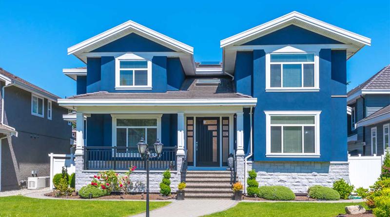 Cat Rumah Warna Biru Laut - Guru