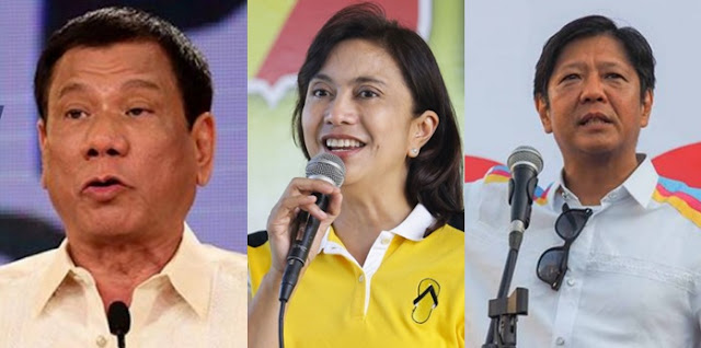 Duterte widens lead; Robredo zooms to No. 1, tied with Marcos