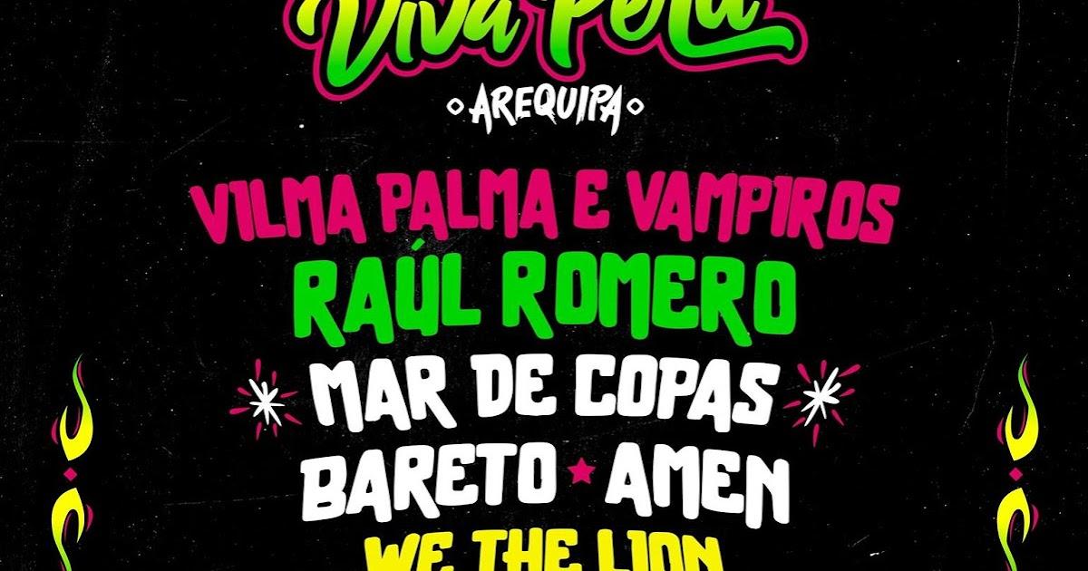VIVA PERU Arequipa 2017 - VILMA PALMA en Arequipa - 30 de Abril 2017   Blog  Del Vago - Agenda Cultural y Conciertos en Arequipa