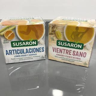 Infusiones Vientre Sano y Articulaciones Susaron Degustabox Octubre 2018