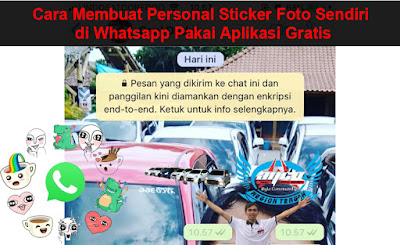 Cara Membuat Personal Sticker Foto Sendiri di Whatsapp Pakai Aplikasi Gratis