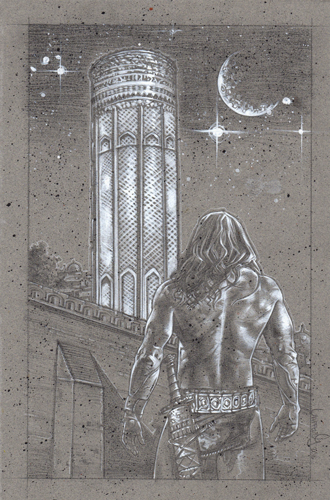 Conan Tower Of The Elephant, Artwork© Jeff Lafferty