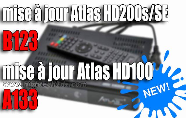 تحميل أخر تحديث لجهاز الاستقبال الرقمي Atlas HD 200s/SE و Atlas HD 100