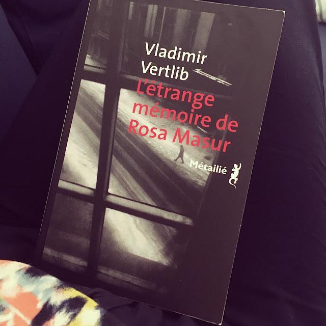 """Chronique littéraire """"L'étrange mémoire de Rosa Masur"""" par Mally's Books"""