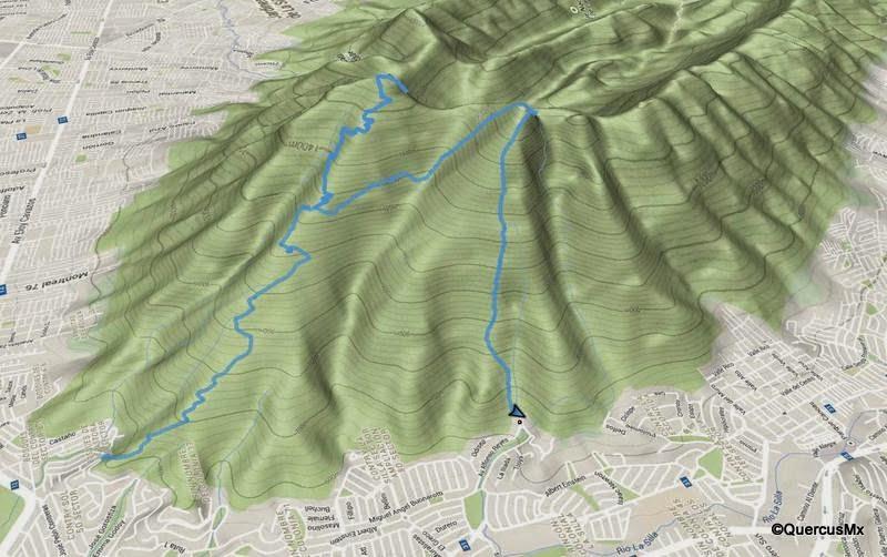 Ruta en el Cerro de la Silla por QuercusMx