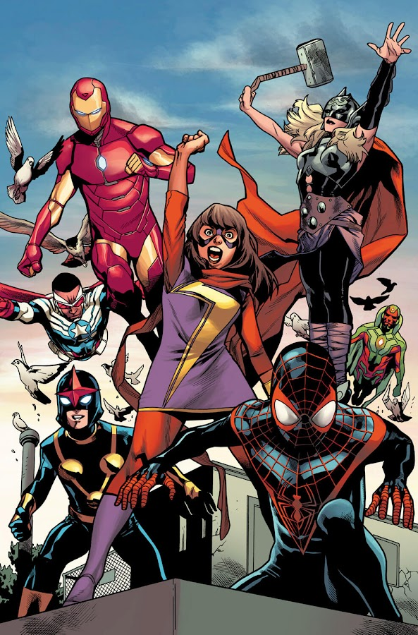 all new avengers mahmud asrar marvel comics