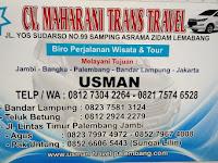 Maharani Trans Travel Palembang - Bandar Lampung