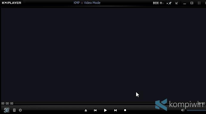 cara mengatasi video tidak muncul di kmplayer