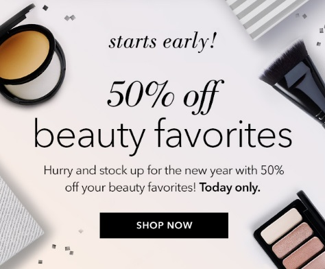 ELF Cosmetics Boxing Day 50% Off Beauty Favourites